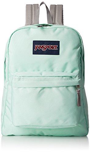 Adult Unisex Green Backpack Label Jansport Superbreak Brook Black 46q8wwxU