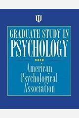 Graduate Study in Psychology Paperback