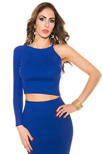 KouCla - Jerséi - para mujer Azul Real