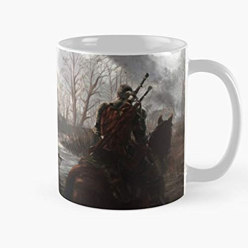 Geralt Of Rivia The Witcher 3 Wild Hunt Best 11 Ounce Ceramic Coffee Mug Gift