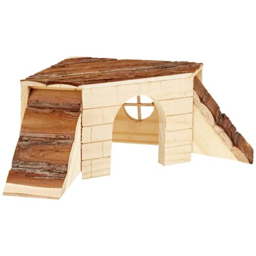70%OFF Kerbl Gineau Pig House with Ramps Nature, 37 x 35 x 15 cm