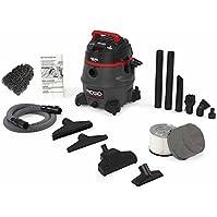 14 Gal, Red Ridgid 50368 RV2400HF HEPA Wet/dry Vacuum (Complete Set) w/ Bonus: Premium Microfiber Cleaner Bundle