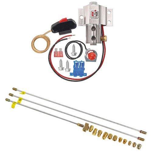 Line Lock Control Brake - Hurst 1745000K Original Roll Control Line Loc Lock Hill Holder & Install Kit