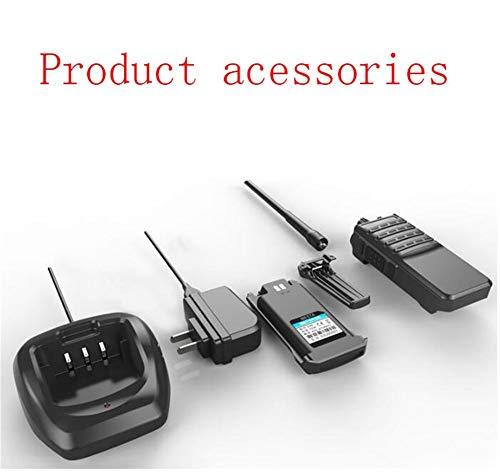 HDJ Walkie Talkies,High Power 50 Km Waterproof Handheld Engineering Property Walkie (Black, 1 Pair) by HDJ (Image #6)