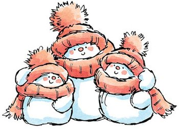 Stamps Family (Snow Family - Rubber Stamps)