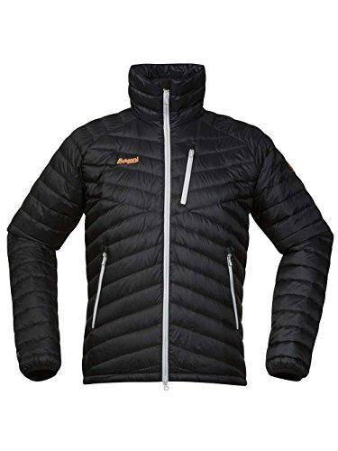 Snowwear Jacket Men Bergans Slingsbytind Down Jacket black/alu/pumpkin