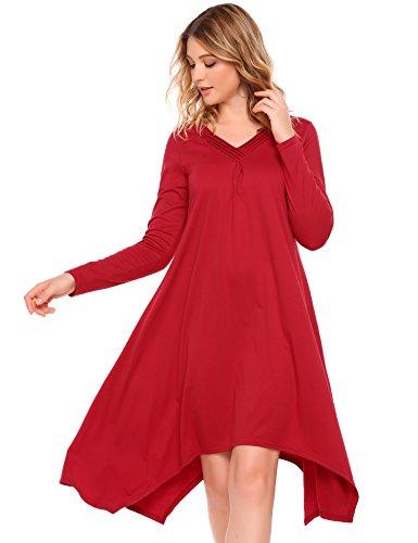 Damen kleid lange armel