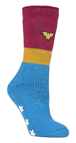 HEAT HOLDERS - Damen Thermo Winter Wonder Woman Socken mit Antirutsch ABS Sohle