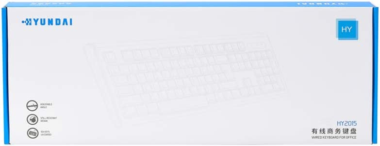 Business Office Games Wired Keyboard HY2015 Ultra-Thin