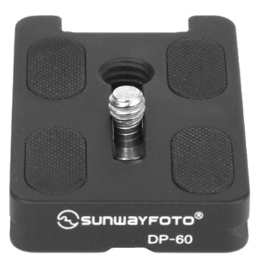 (SunwayFoto DP-60R Universal Quick-Release Plate for Arca-Style and RRS Clamps)