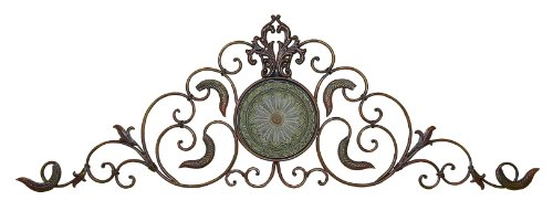 Deco 79 96647 Metal Wall Decor a Classic Horizontal Wall Decor