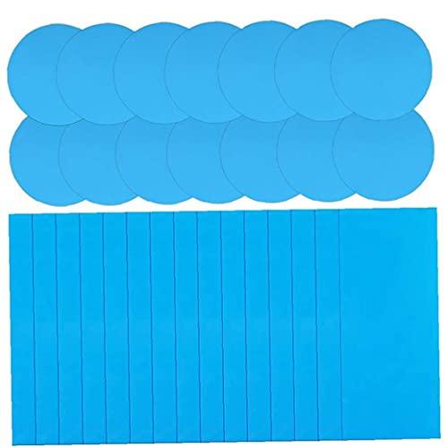 Hotaden Pool Patches Kit Zelfklevende PVC Inflatables Reparatie Patch Tape Sticker voor Zwembaden Opblaasbare Boot…