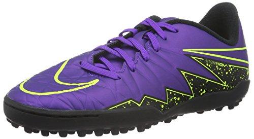Nike Kids Jr Hypervenom Phelon II Tf Hyper Grape/Hypr Grape/