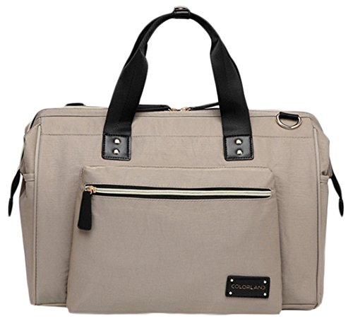 Baby Bag Diaper Maternity for Mom Nappy Mother Tote Bag-Beige - 9