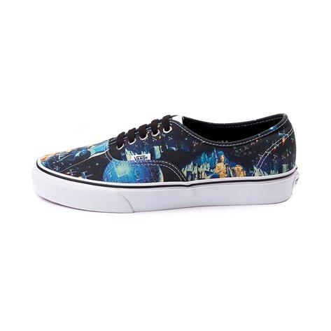 (バンズ) VANS Authentic Star Wars Poster Skate Shoes スターウォーズ?ポスター?スケートシューズ メンズ9.5(27.5cm) レディース11(28cm) [並行輸入品]