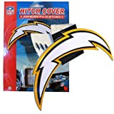 San Diego Chargers Official NFL Trailer Hitch Cover by Siskyou