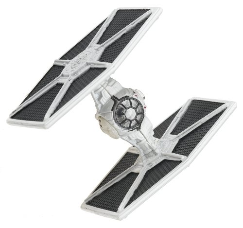 Hasbro Titanium Series Star Wars 3 Inch White TIE Fighter (Star Wars Black Series Titanium Tie Fighter)