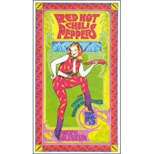 Red Hot Chili Peppers Concert Poster - 1