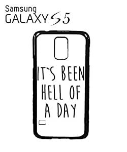 It's Been Hell of a Day Mobile Cell Phone Case Samsung Galaxy S5 Black by icecream design