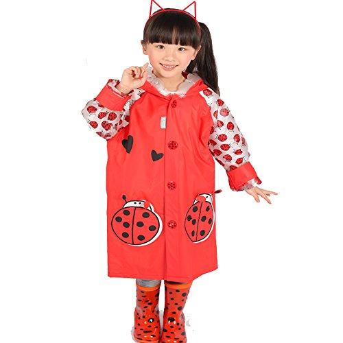 Ezyoutdoor Circles Children Raincoat Reflective product image