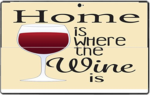 - Wine Lovers Home is Where The Wine is Surface RT Vinyl Decal Sticker Skin by Debbie's Designs