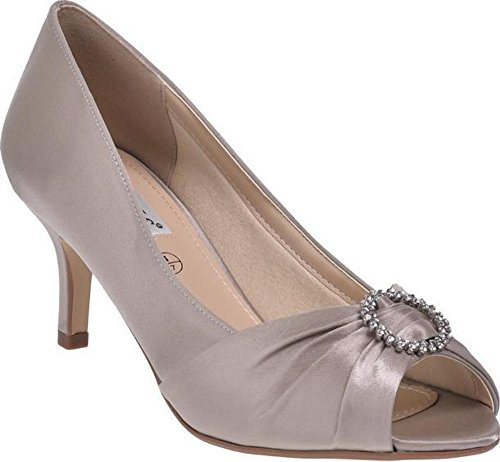 by with Fit D Diamante Peep Toe Valencia LEXUS 4Ezqw60xy