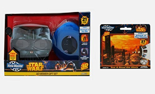 Star Wars 3D View-Master Viewer Gift Set, Revenge of the Sith plus 3 Reel Attack of the Clones Set / Star Wars Toys by Star Wars (Image #1)