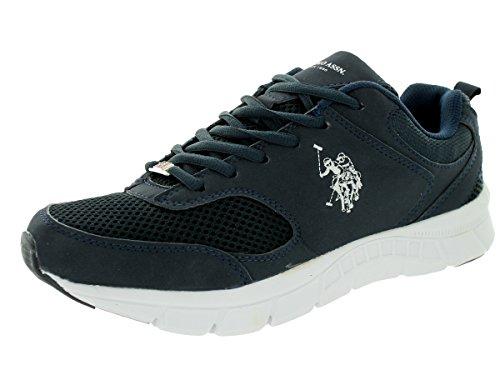 - U.S. Polo Assn. Men's Clutch 2 Navy/White Casual Shoe 7.5