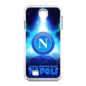 Napoli Logo P9D6Eo Funda Samsung Galaxy S4 9500 funda caja del teléfono celular blanco Y5V5JP caja del teléfono celular funda de plástico único
