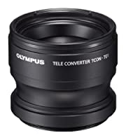 Olympus Telephoto Tough Lens Pack (lens and adapter) for TG-1, TG-2, and TG-3 Cameras (Black with Red Adapter)