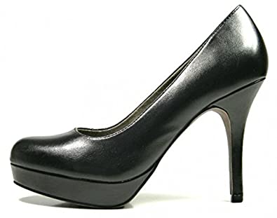 TAMARIS Binse Pumps black 22419 22 001: : Schuhe