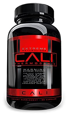 Cali Thermogenic Diet Pill, Fat Burner for Fast Weight Loss, 60 Capsules