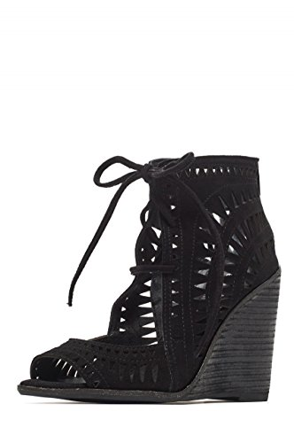 Jeffrey Campbell RODILLO HI JC 1773, Zeppa BLACK-BLACK