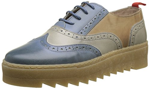 Scarpe nobrand Stringate Blu Jeans Galactic Brouge 02 Donna 2 xf1rEqfw