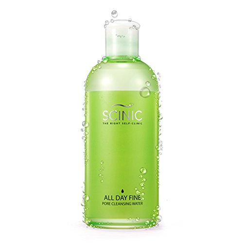 SCINIC All Day Fine Pore Cleansing Water Fluid All Skin Types Women (300ml) (Scinic Honey All In One Ampoule Ingredients)