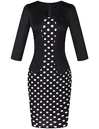 Women Wear to Work Business Party Bodycon One-Piece Dress