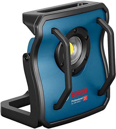 Bosch Professional 18V System Akku Baustrahler GLI 18V-4000 C (ohne Akkus und Ladegerät, Leuchtstärke: 4.000 lm, im…