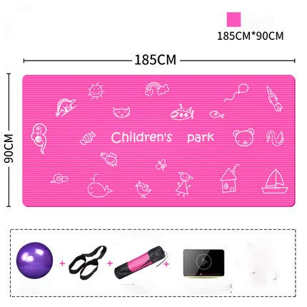 YOOMAT 185  90 cm  10mm nbr Kinder Yoga Matte Umwelt gesunde Pads Rutschfeste matten Fitness Kinder tanzen übung pad für Kinder