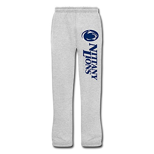 DHome Men's Workout Pants Penn Football Lion Ash 3X]()