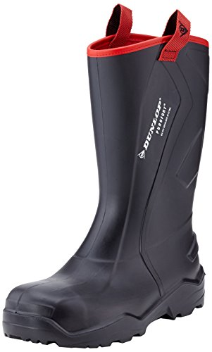 Dunlop Purofort + resistente de seguridad completo para hombre industrial trabajo Wellington UK6–