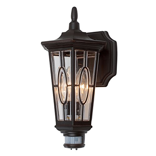 Brinks 7238BZ-1 Lantern Carousel Bronze with Motion Light