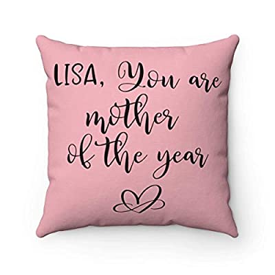 FabricMCC Throw Pillow Cover 18 Inch Quote Words Square Decorative Linen Cushion Cover Throw Pillowcase for Couch