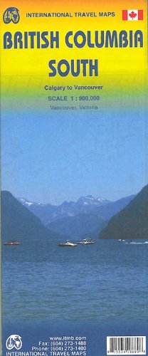 International Travel Map ITM British Columbia South, Calgary to Vancouver (International Travel Maps)