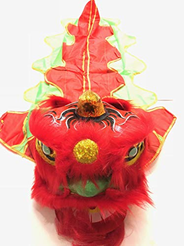 (Chinese New Year Lion Dragon Head Dance)