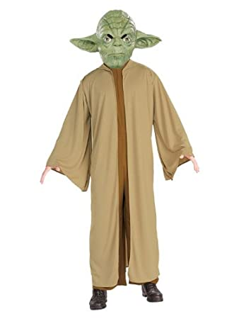 Amazon.com: Star Wars Child\'s Yoda Costume, Small: Toys & Games