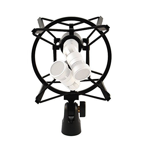 (SM-MSR shock mount for two microphones for stereo applications)