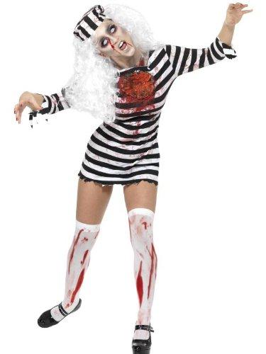 Smiffys Women's Zombie Convict Costume (Convict Costume Australia)