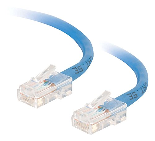 (Cables to Go Enhanced Cat5 350MHz Crossover Patch Cable - Crossover cable - RJ-45 (M) - RJ-45 (M) - 1M - ( CAT 5e ) - stranded - blue)