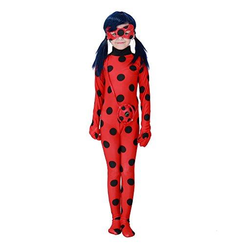 vasta selezione di preordine qualità stabile Costume Ladybug Miraculous Travestimento Carnevale Halloween ...