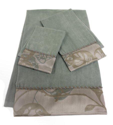 Sherry Kline Paradisio 3-piece Embellished Towel Set by Sherry Kline Decorative Towel